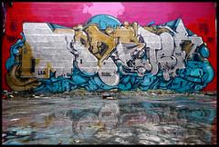 Monster by DEM189 (LBD-90DBC-TCP-CKT) (Thias (-)) Tags: terrain streetart paris monster wall painting graffiti mural spray urbanart reflet painter graff aerosol dem reflexion bombing ermitage spraycanart lbd ckt pgc mnilmontant thias tcp photograff frenchgraff 90dbc photograffcollectif dem189