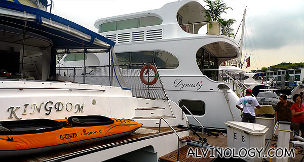 Kingdom, the yacht that we will be boarding