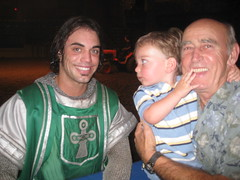 Avi, Grandpa, and the King of Ireland