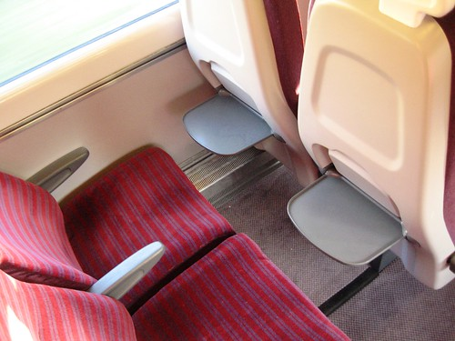 Standard (2nd) Class seating in Charter Train