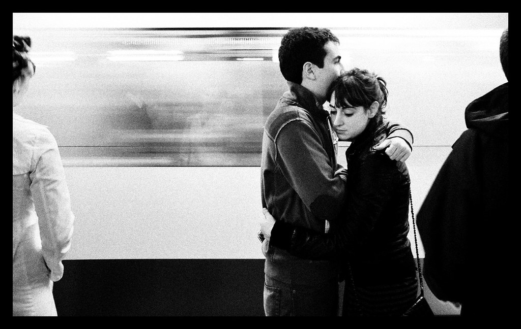 Love is in the subway