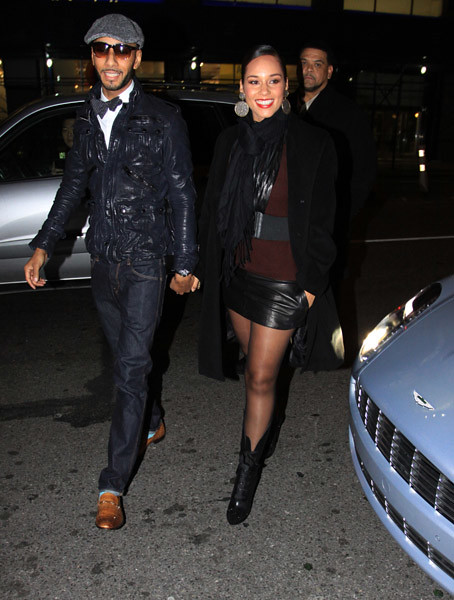 Swizz-Beatz-and-Alicia-Keys-arrive by Fee World Order