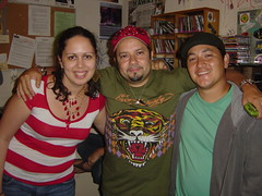 From left: ms.angel, Louie Vega, Haboh