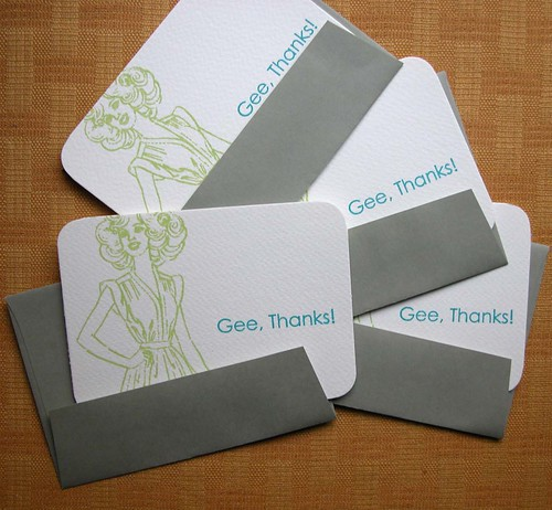 Gee Thanks! bamboo envelopes