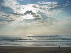 Biarritz Surf session #2 (pixeliz) Tags: sunset sea sky sun mer france beach nature soleil surf lumire ciel paysage vague plage biarritz lever landes surfeur raylight aplusphoto hossghor