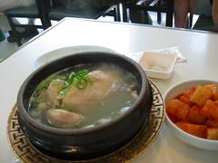 Ginseng chiken soup
