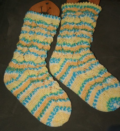 Monkey Socks - Finished!