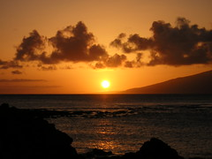 Maui Sunset from Kapalua