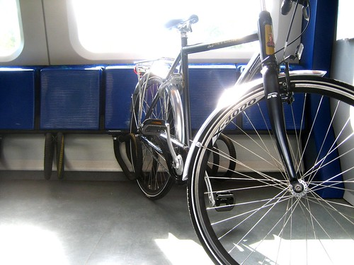 Bike Meets Train. Falls in Love.