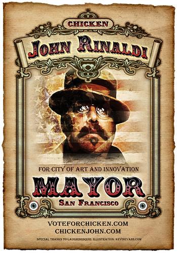 Chicken John Rinaldi For Mayor