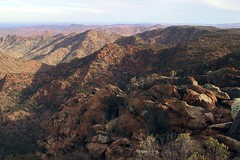 looking towards mount painter from the summit of freeling heights, arkaroola sanctuary - link to the mawson plateau feature images