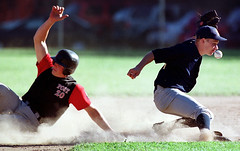 spa_ctmxoxx_3chin.jpg (newspaper_guy Mike Orazzi) Tags: usa sports ball nikon baseball plymouth ct 300mm athletes dust athlete chin actionphotography secondbase 300mmf28d orazzi mikeorazzi connecticutsportsphotographer