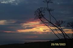 Sunset, Dorset (slingpoo