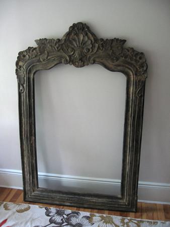 Huge old mirror