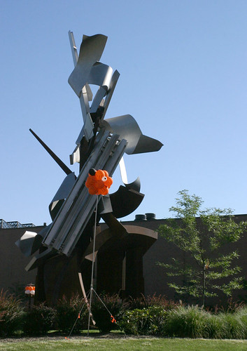 """The Sentinel with a RIT """"Tiger"""" Balloon Cluster"""