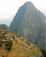 Inca terraces, Machu Picchu