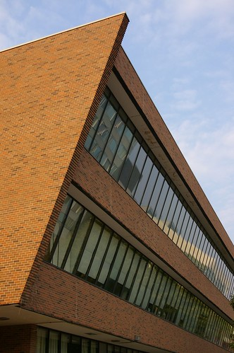 Brick Facade of Building Design