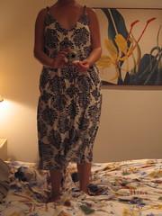 Long version of mushroom dress