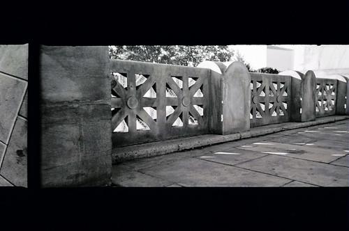 railing, art museum