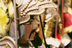 give him a chance, angelica! (raffaellamidiri) Tags: orlando puppet folk knight sicily tradition taormina sicilia marionette cavaliere pupisiciliani culturapopolare chansonderoland operadeipupi