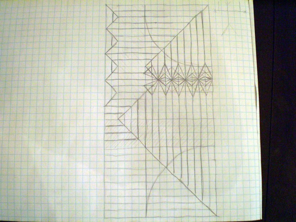 The Worlds Newest Photos Of Origami And Sword Flickr Hive Mind Foldupsword Diagram Crease Pattern 02 Olorin1984 Tags Square Fold Fencer