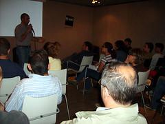 Corrado Morra tiene una lezione di sceneggiatura alla Fnac