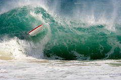 Wipeout - Bodyboarding at Porthcurno Beach, Cornwall, UK (s0ulsur