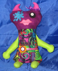 Plush monster doll Splat