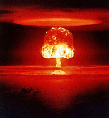 nuclear-explosion red