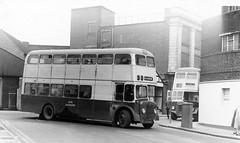 7076UK leaves Walsall bound for Wolverhampton, February 1975. (Walsall1955) Tags: 29 walsall 76 mcw shawstreet guyarab wmpte westmidlandspte wolverhamptoncorporationtransport 76n wolverhamptonct townendstreet 7076uk