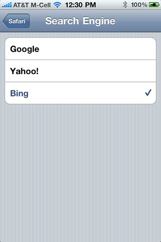 Bing & Yahoo Prompting Users to Switch