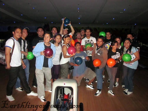 the Funky Bowling bloggers