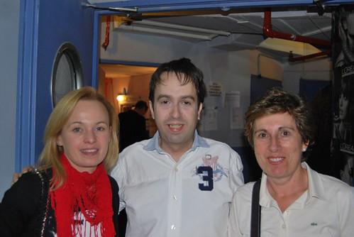 Andreu Castro, Laura y M.Carmen
