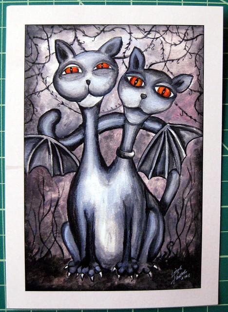 FI-790942: Siamese Batcats!