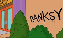 Banksy Simpsons 01