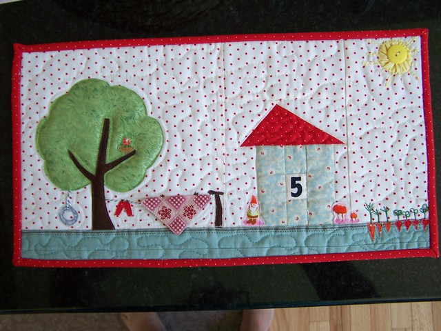 #5 Privet Drive mini quilt for swap