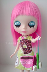 Toothy girl :D (obviouszebra) Tags: tooth doll teeth kawaii blythe toothbrush takara pdp fbl guavascalp toothygirl