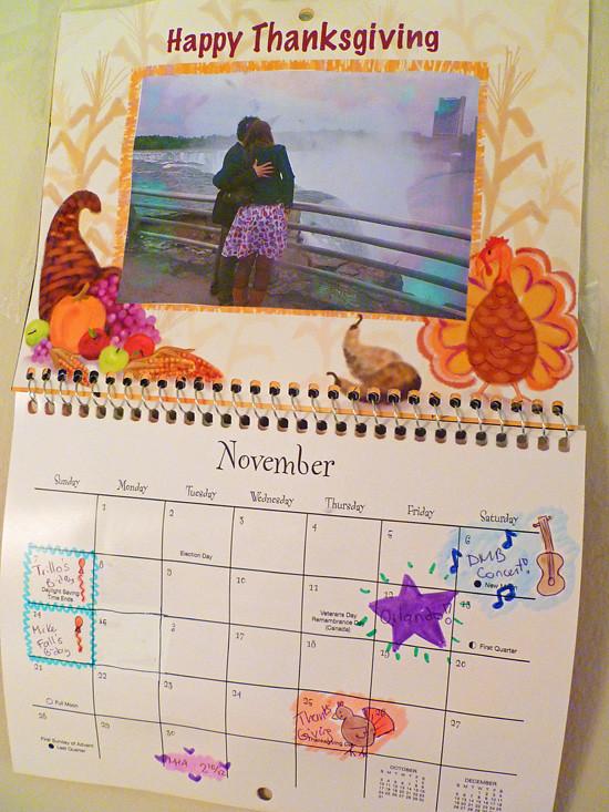 Calendar 11 - November