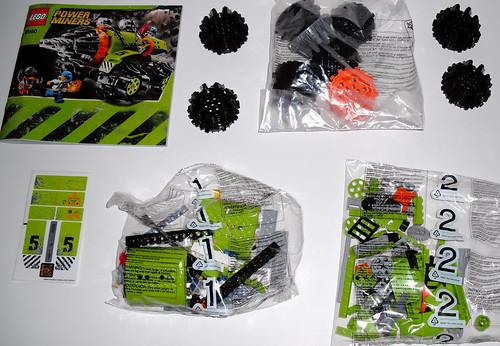 LEGO Power Miners 8960 Thunder Driller