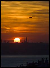 sunset subset3 (-Nem-) Tags: sunset sea sky sun istanbul İstanbul deniz gökyüzü günbatımı güneş bestsun