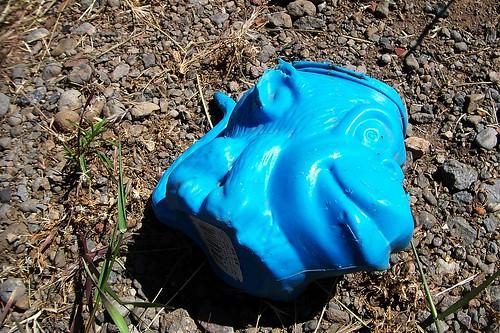 blue monkey cup