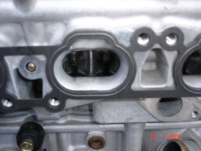 show me your head porting - SR20 Forum