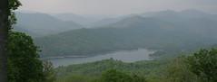 Tsali- Fontana Lake (aviviphoto) Tags: panorama lake mountainlake moutains tsali panoramastitch
