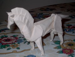 Horse (PhillipWest) Tags: origami paperfolding papiroflexia