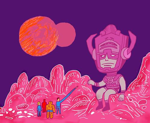 FF and Galactus