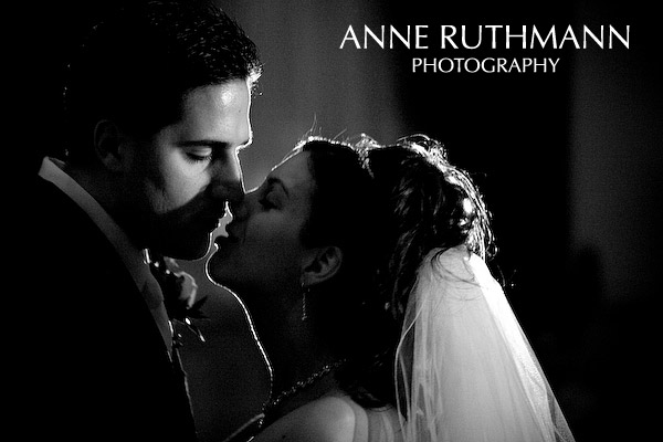 Film Noir Bride & Groom