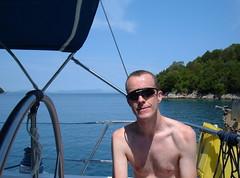 Michael off Nikolaos Island