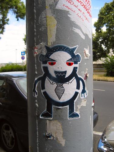 Street art on Bem Rakpart
