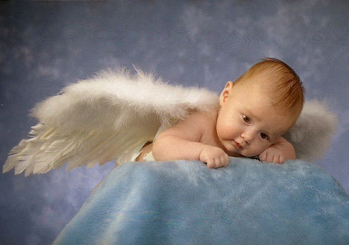 imagenes angeles bebes