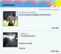 Bebo Comments
